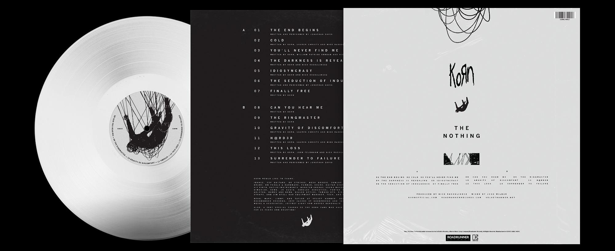 Korn The Nothing Design By Tnsn Dvsn